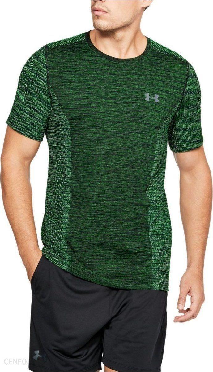 74493a271167f7 Under Armour Koszulka męska Threadborne Seamless T-Shirt Green r. S  (1289596701)