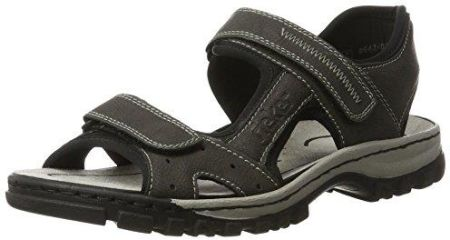1789964acbca8 Sandały Crocs Swiftwater Sandal M Black/Charcoal 15041-070 (CR110-a ...