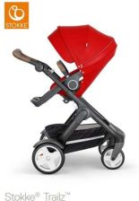 Stokke Trailz Black Spacerowy Red