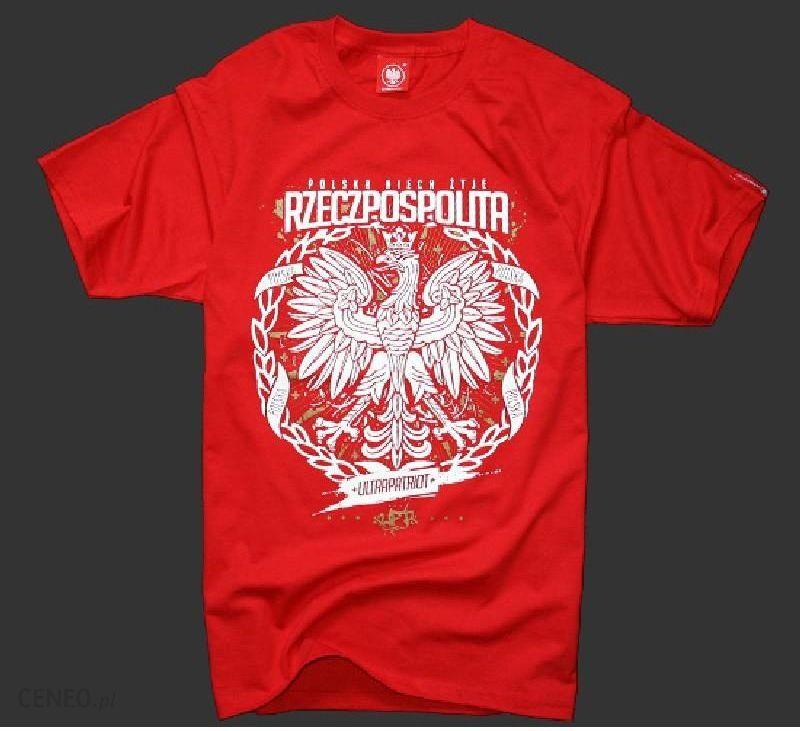 902e4d6c6778ad Koszulka patriotyczna Niech żyje Polska (czerwona) M - Ceny i opinie ...