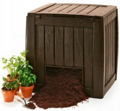 Keter Deco Composter Brązowy 340L Brązowy