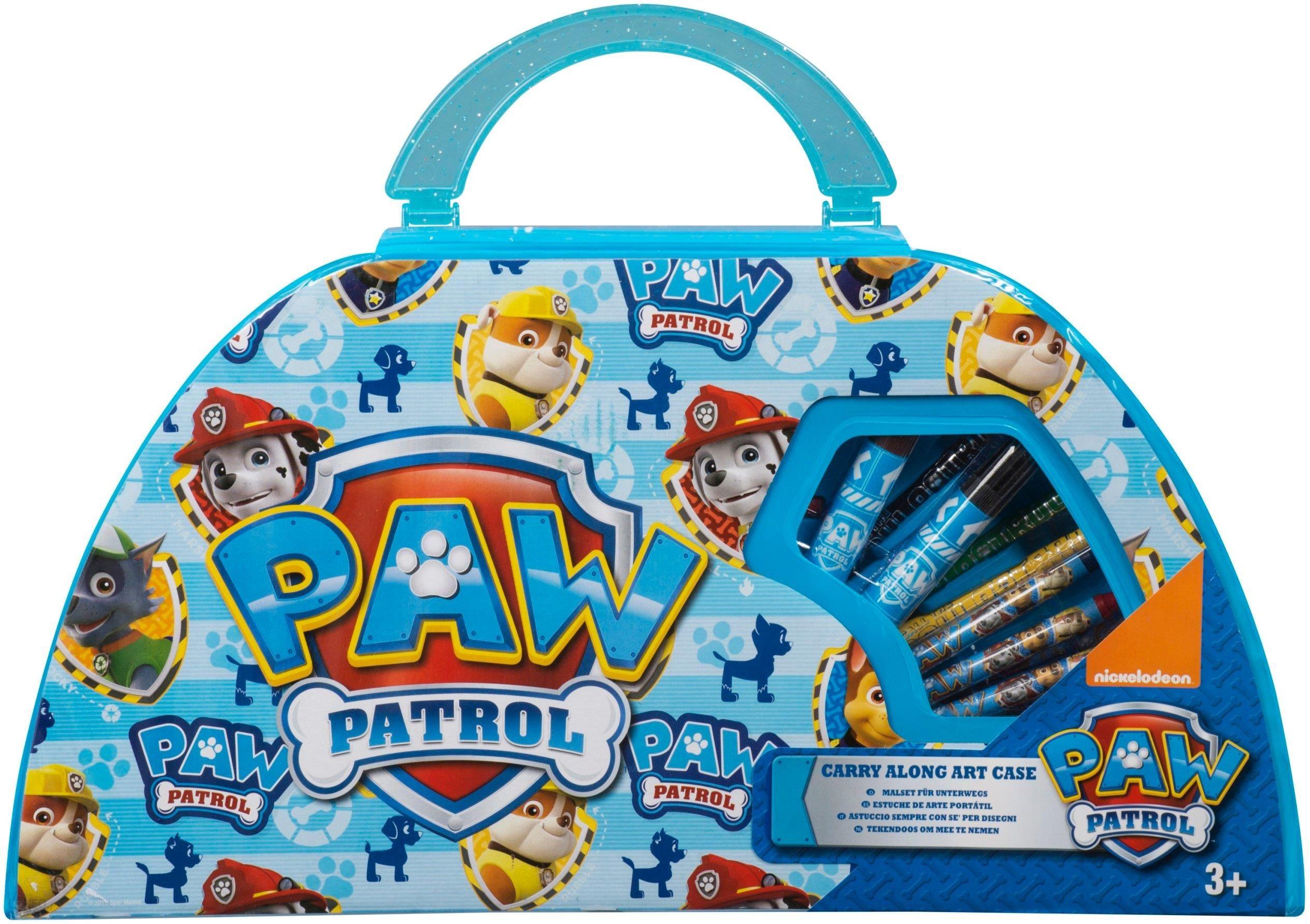 Wspaniały Psi Patrol Paw Zestaw Plastyczny Walizka Kredki - Ceny i opinie BX74