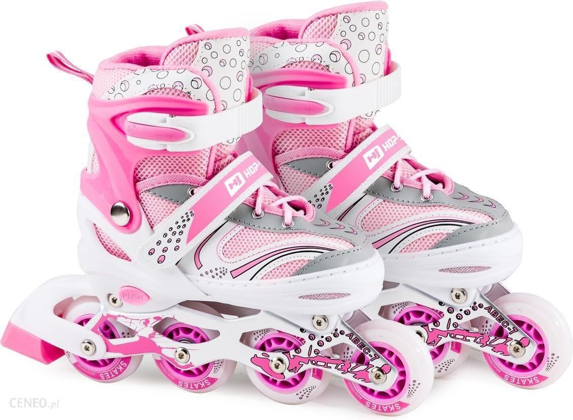 """Hop Sport Tri Skate Hs 8101 Speed Pink White"""