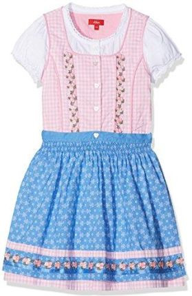 1b66aaa24a Amazon S. Oliver sukienka dziewczęca krótko - ludowa sukienka  bawarska austriacka 116
