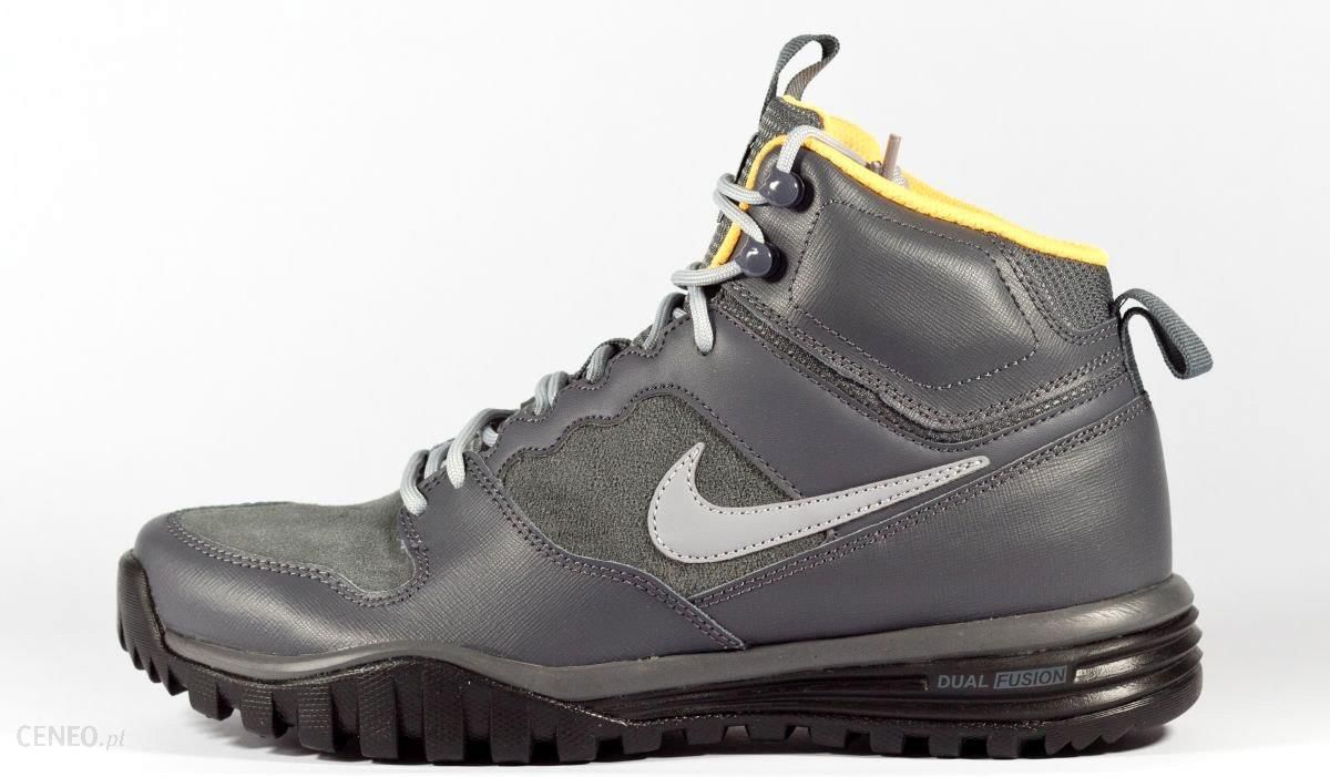 BUTY NIKE DUAL FUSION HILLS MID LEATHER 695784 001 Ceny i opinie Ceneo.pl