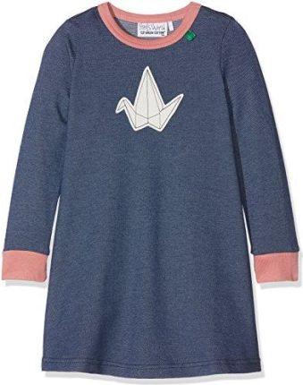 eea370234b Amazon FRED World by Green Cotton sukienka dla dziewczynki Bird Denim Dress  - 110