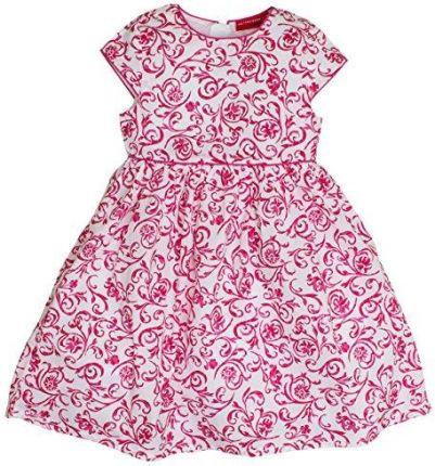 9fccbb3a90 Amazon Salt and Pepper sukienka dla dziewczynki Dress z czerwonymi  niepozorne pędy kwiatów -