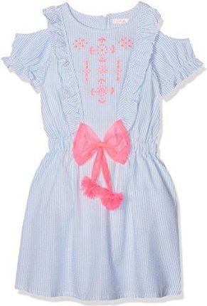 f54f2af414 Amazon Happy Girls cudownym sukienka dla dziewczynki z kwiatowym ...
