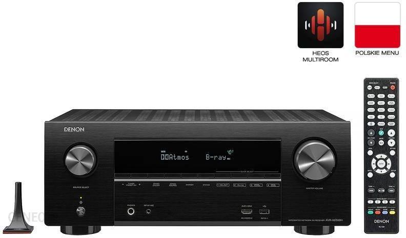 Denon AVR-X2500H stereofoninis imtuvas juodas