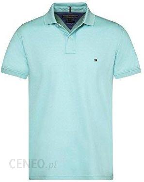 fbd796823 Amazon Tommy Hilfiger mw0mw04119 Regular Polo koszulka polo męska, kolor:  Celeste , rozmiar: