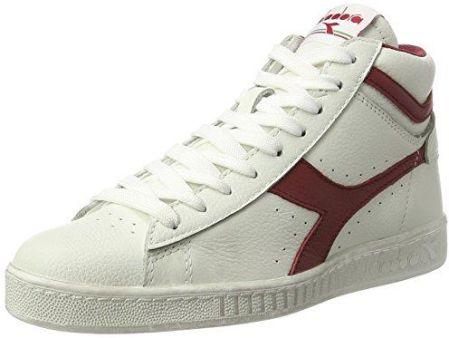 74202d0f9 Amazon diadora mężczyzn Game L High woskowany wysoka Sneaker - kość  słoniowa - 36 EU. Buty sportowe męskie ...