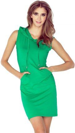 d08292009b MM 005-1 Elegancka sukienka z klamerką - CZERWONA - Ceny i opinie ...