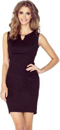 55a258c6ec Podobne produkty do Elegancka sukienka AMELIA dla puszystej na sylwestra  Kolor  Niebieski Rozmiar  44. Morimia MM 005-3 Elegancka sukienka z  klamerką - ...