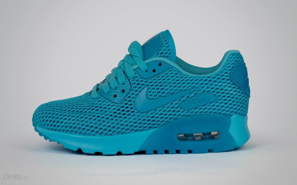 DamskieMęskie Nike Air Max 90 Mesh GS 401 niebieski