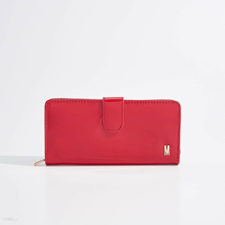 3d39dec4dc7b8 Mohito - Elegancki portfel z panelami - Czerwony - Ceny i opinie ...
