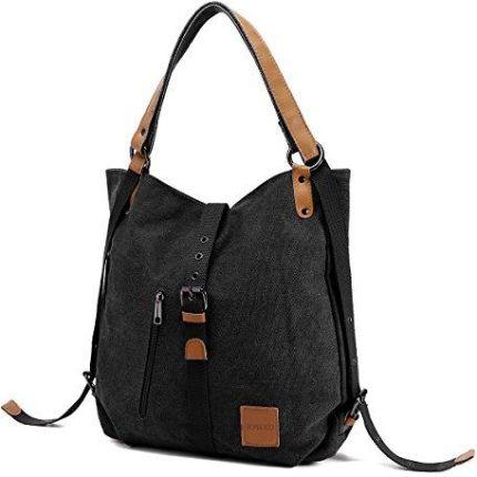 d4551dc4d1e54 Amazon joseko płótna żaglowego torba na ramię plecaki Vintage damskie  plecak szkolny woreczek wielofunkcyjne do pracy
