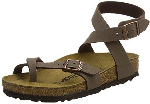 Amazon Birkenstock damskie Yara kostek rzemyk sandały - brązowy - 37 eu -  zdjęcie 1 743a7e61561