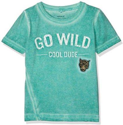 ... 78fb5bc49eb8 T-shirt krótki rękaw chłopięcy z printem - Ceny i opinie -  Ceneo. fc73772ba6a