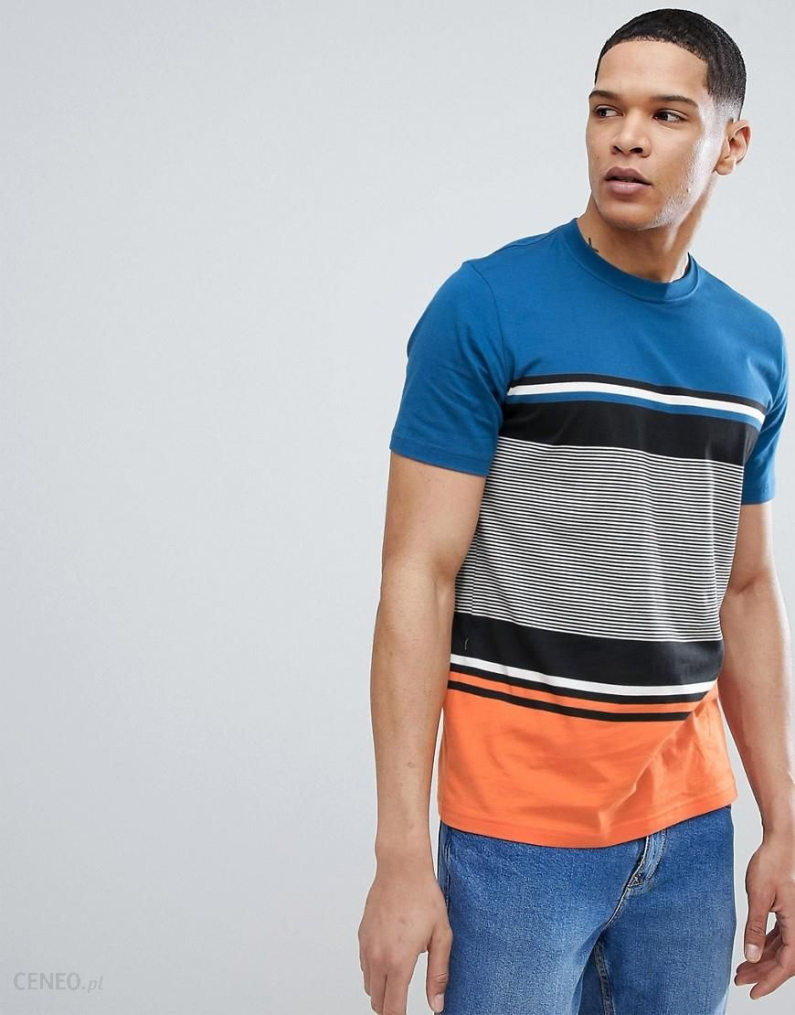 PS Paul Smith Multiple Stripe T Shirt In Orange Orange Ceneo.pl