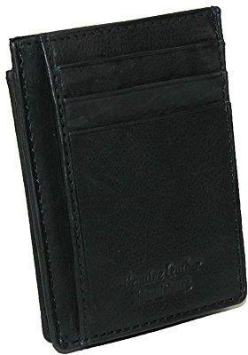 90a121f166134 Amazon Paul   Taylor męski skórzany ID portfel - w rozmiarze uniwersalnym  czarny