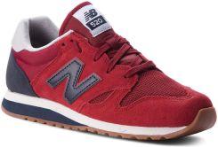 68eec58e2f119 Sneakersy NEW BALANCE - U520EK Czerwony. Czerwone buty sportowe damskie ...