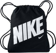 jak kupić niska cena tania wyprzedaż usa NIKE Worek Na Buty Graphic Gym Sack BA5262-015 - Czarny