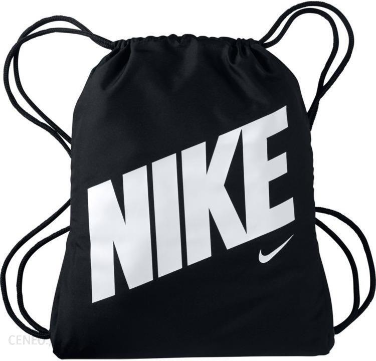 najnowsza kolekcja buty do biegania kody kuponów NIKE Worek Na Buty Graphic Gym Sack BA5262-015 - Czarny