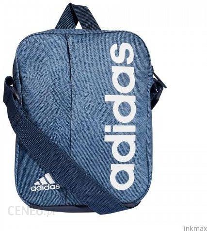 f2110ae6478c0 Saszetka Adidas męska TOREBKA torba pasek na ramię niebieska - zdjęcie 1