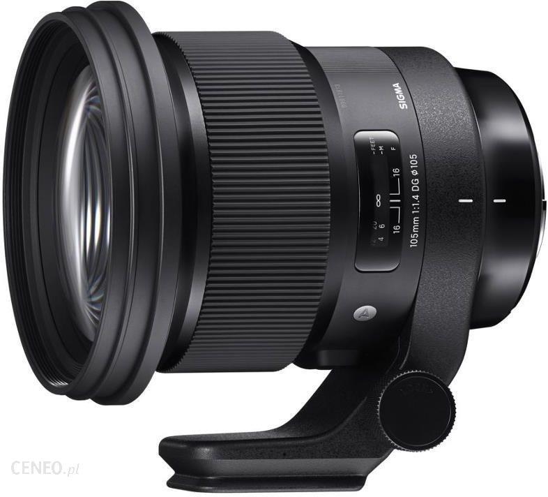 Obiektyw do aparatu Sigma A 105mm f/1.4 DG HSM (Canon) - Ceny i opinie na  Ceneo.pl