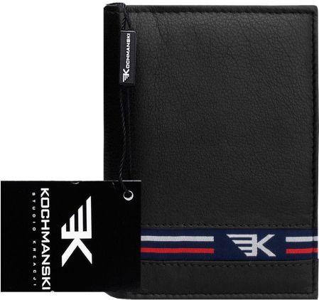 d58e1c49aa991 Surowy skórzany portfel męski Kochmanski Rfid stop - Ceny i opinie ...