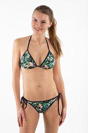 02855f196de75f Amazon Flying Love Birds kobiety Triangel bikinitop wieczko, wielokolorowa,  s