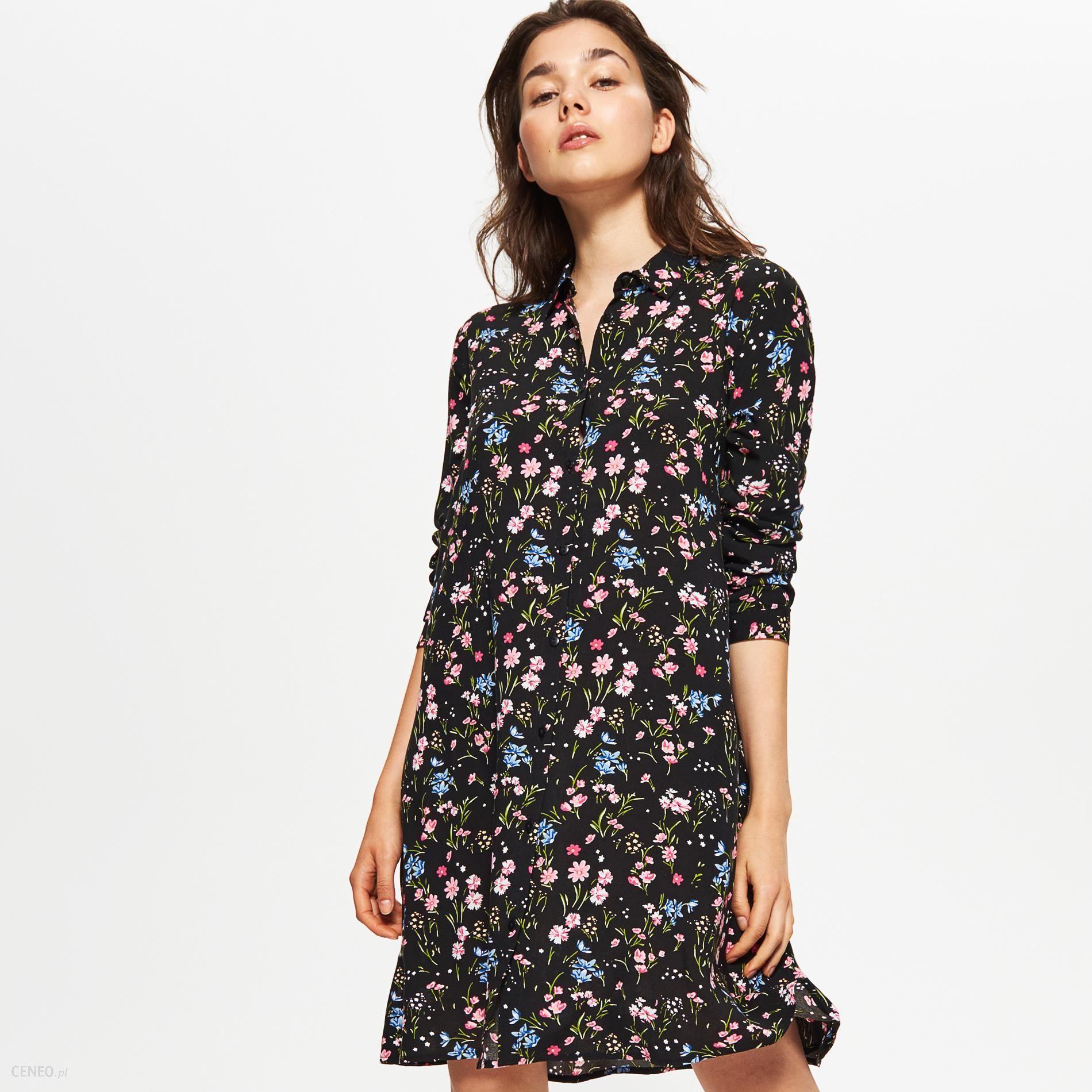 38bdf540cf Cropp - Sukienka oversize - Czarny - Ceny i opinie - Ceneo.pl