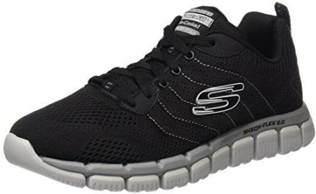 buy popular 4998d b0638 Amazon Skechers męskie buty do fitnessu Skech-Flex 2.0, kolor czarny (Black