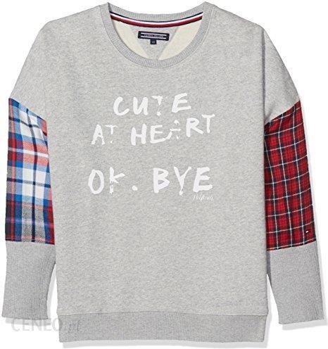 ab833956a0256 Amazon Tommy Hilfiger dziewczynka bluza Check Mix CN hwk L/s. Dzięki temu  Mac