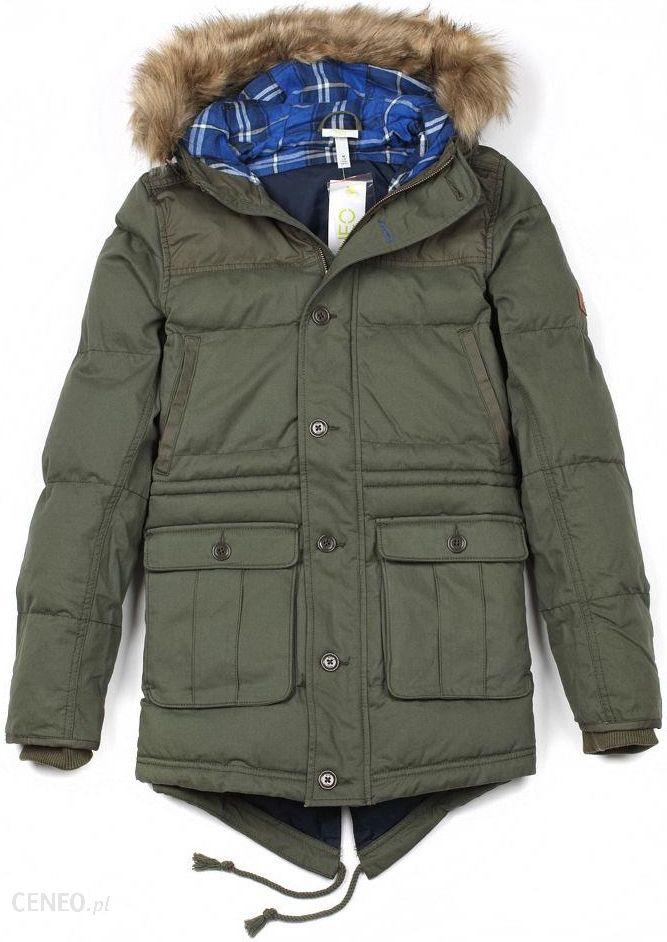 adidasy kurtka zimowa khaki