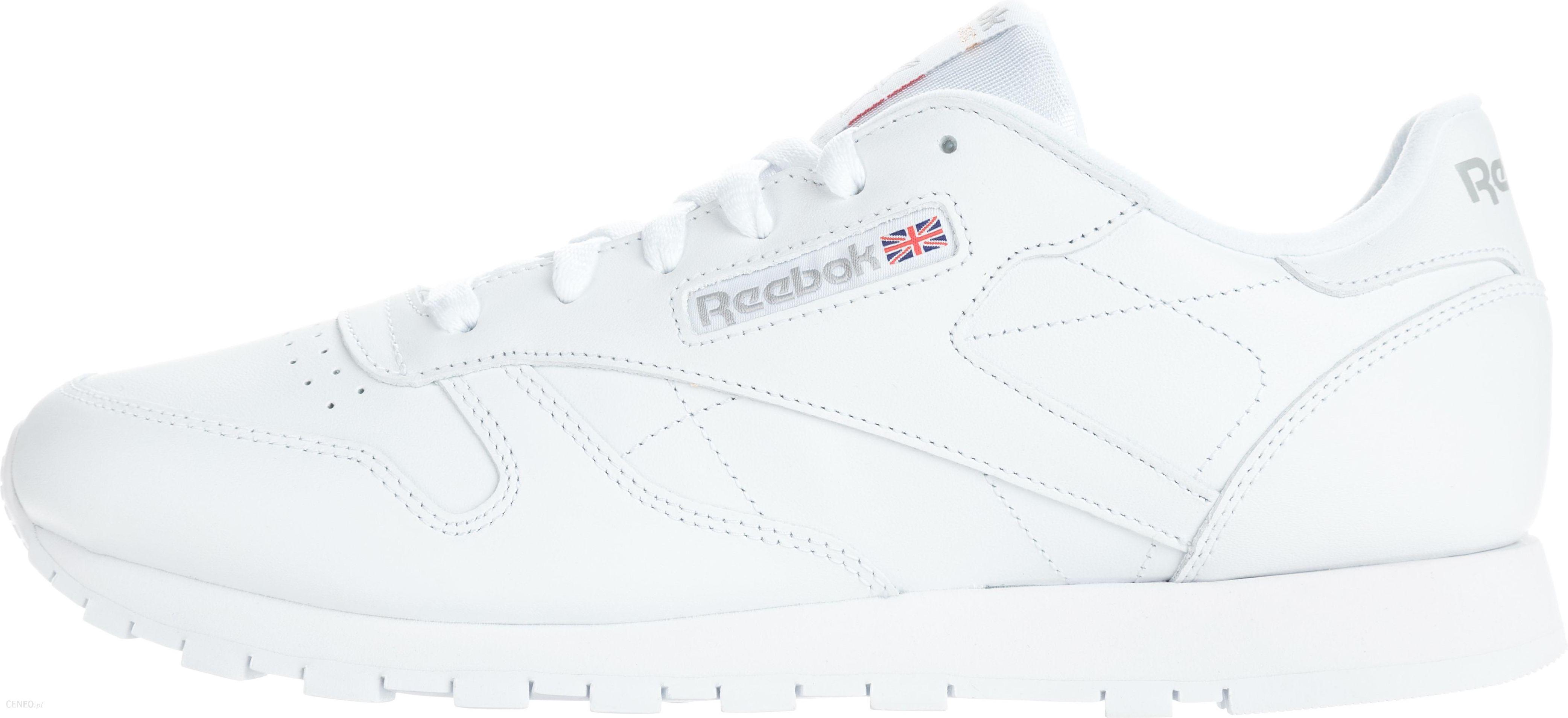 Reebok Classic Leather Tenisówki Biały 40,5 Ceny i opinie Ceneo.pl