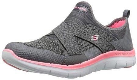 01d9aca6 Amazon Buty sportowe Skechers Flex Appeal 2.0-New Image dla kobiet, kolor:  szary