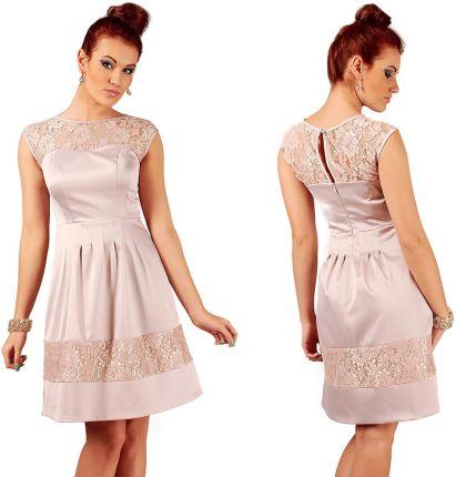 ee8cadeb99 Podobne produkty do Sukienka ICHI 4990-SUD201 Odcienie beżu i brązu Sukienki  wieczorowe Odcienie beżu i brązu Sukienki krótkie