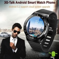 AliExpress Full Round Screen S99A Smart watch MTK6580 Android 5.1 Bluetooth4.0 GPS Google app Heart rate Fitness Tracker Smartwatch Phone