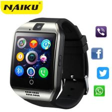 AliExpress Bluetooth Smart Watch Smartwatch Q18 Android Phone Call Relogio 2G GSM SIM TF Card Camera for iPhone Samsung HUAWEI PK GT08 A1 - zdjęcie 1
