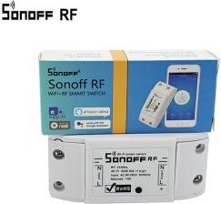 AliExpress Sonoff Smart Home RF 433Mhz Wall Wireless Remote Control Switch Home automation / Intelligent WiFi Center For Iphone Smartphone