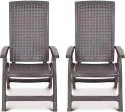 Krzesło ogrodowe Allibert 2X Krzesło Ogrodowe Montreal 4166