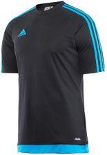 bcdf1f54b Adidas Teamwear Koszulka Adidas Estro 15 Jsy Czarno-Niebieska Bp7197
