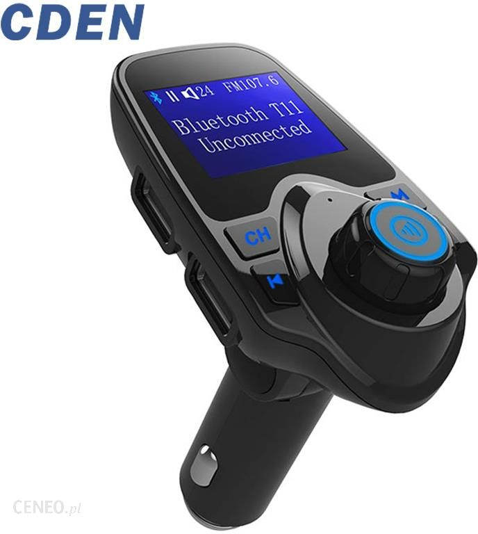 Wireless Bluetooth 4.2 FM Transmitter Car Radio MP3 Player Dual USB Charger LCD