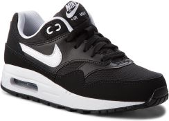 half off 6d0f4 35d35 Buty NIKE - Air Max 1 (GS) 807602 001 Black White eobuwie