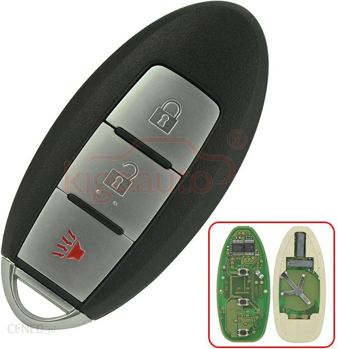 AliExpress Smart key 3 button 315Mhz 285E3-AC70D for Nissan Versa Armada  Rogue 2007 2008 2009 2010 2011 2012 2013 CWTWBU729 keyless remote - Ceneo pl