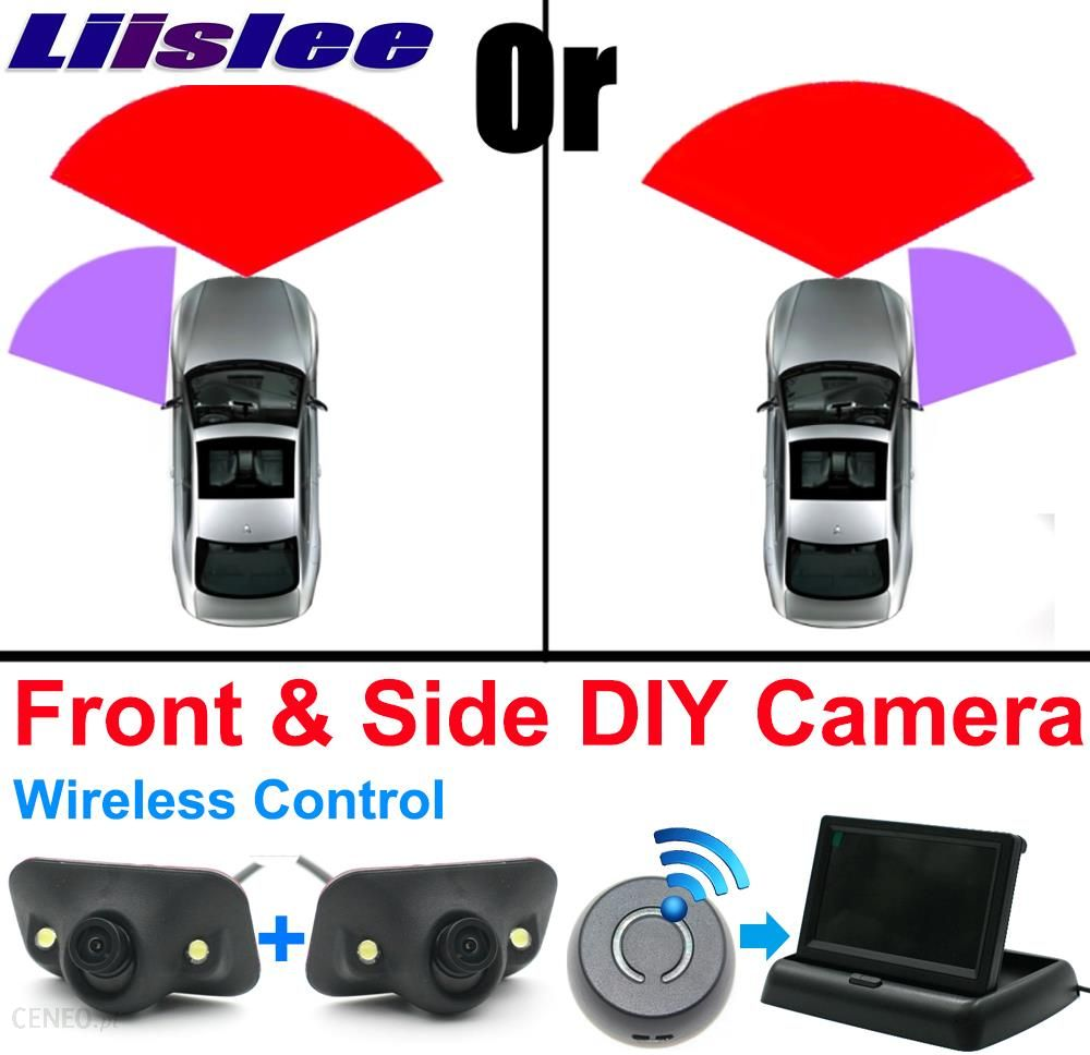 c963997021ad AliExpress LiisleeCar Front   Side Camera Cigarette Power Variable Channel  Blind Spots Invisible Areas Copilot Camera
