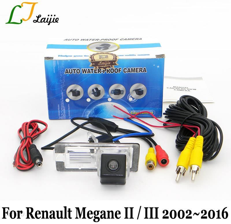 2 III 3 CCD Car Rear View Parking// Reverse Camera For Renault Megane II