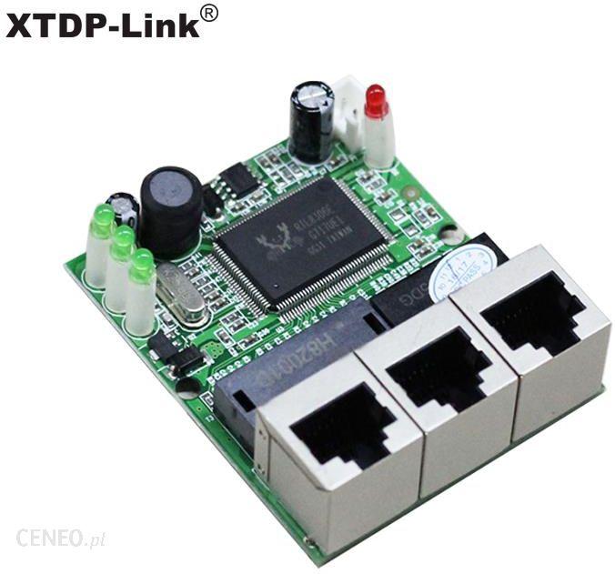 AliExpress shenzhen manufacturer company direct sell Realtek chip RTL8306E  mini 10/100mbps rj45 lan hub 3 port ethernet switch pcb board - Ceneo pl