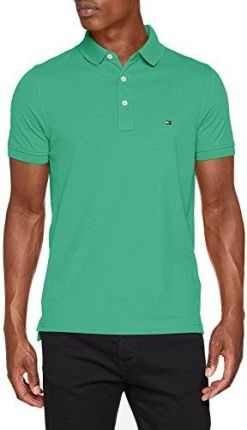 86ffb5e90 Amazon Tommy Hilfiger męska koszulka polo Tommy Slim Polo - krój dopasowany  m